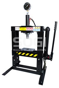 Pressa idraulica manuale da banco SOGI P10-M da 10 Ton