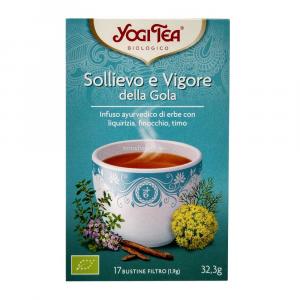 Yogi tea sollievo e vigore della gola
