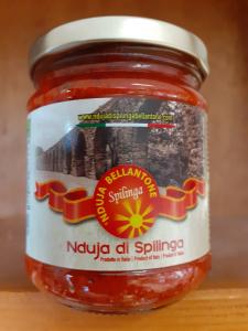 Nduja di Spilinga peso netto 180 gr Bellatone Gabriella Spilinga (VV)