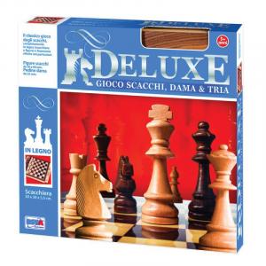 Deluxe Scacchi Dama Tria 11024 legno