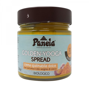 GoldenYooga Spread Crema Spalmabile Dolce con Curcuma