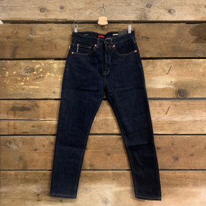 Jeans Gianni Lupo Raf Carrot Fit Blu Scuro