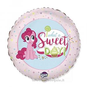 Palloncino rosa Foil My Little Pony Compleanno bimbi 45 cm - Party allestimento