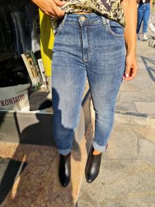 Jeans slavato