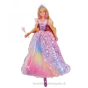 Palloncino sagomato Foil Barbie Compleanno bimba 91 cm - Party allestimento