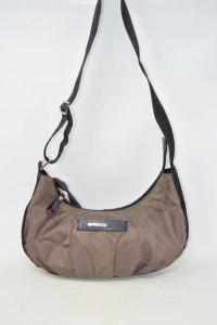 Canvas Bag Nannini Brown And Black 32x18 Cm