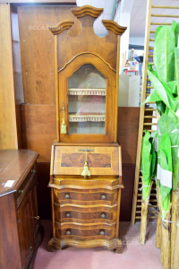 Cabinet Scrittoio With Display Cabinet