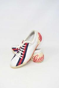 Shoes Woman Gucci White Replica N° 39