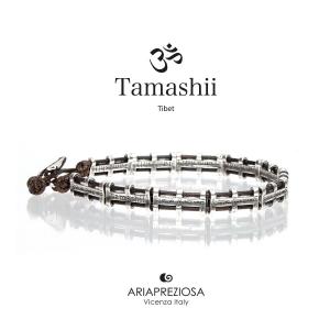 Tamashii bandiere tibetane in Argento - Small marrone