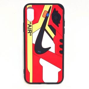 Cover AJ1 Chicago Air rossa per iphone X Xs, Xr, X Xs Max | Blacksheep Store