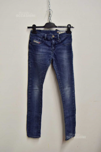 Jeans Baby Girl Diesel Size 11 Years Stretch
