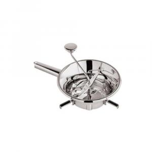 Passa Verdura 20 cm In Acciaio Inox Con Manico Manopola Con 3 Dischi Facile Da Utilizzare Casa Utensili Da Cucina
