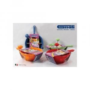 Passa Verdure 24 cm 2 Dischi Disponibile In Vari Colori Disponibile In Plastica Resistente Utensile Utile Per Sminuzzare Verdura