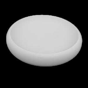Mascagni centrotavola rotondo bianco ceramica