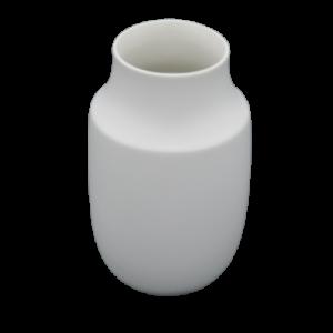 Mascagni vaso ceramico 25cm bianco