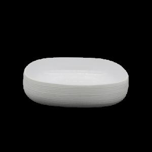 Mascagni ciotola ceramica 31x31 bianca