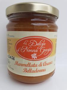 Confettura  di Arance Belladonna  212 cc della ditta Tremuse di Melia di Scilla (RC)