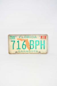 Targa Originale Florida SARASOTA 716 BPH
