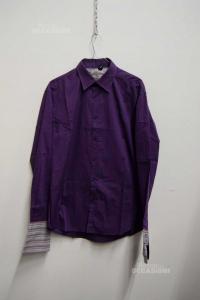 Shirt Man Kenzo Purple Size 42