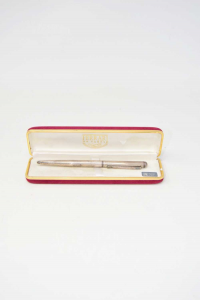 Penna Biro Newton Funzionante In Argento 925