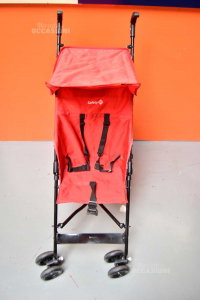 Stroller Ultralight Safety 1 St Red With Tettuccio