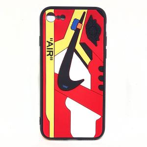 Cover AJ1 Chicago rossa per iphone 7, 8, SE2020 | Blacksheep Store