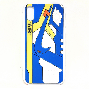 Cover AJ1 Chicago blu per iphone X, Xs, Xr, X Max | Blacksheep Store