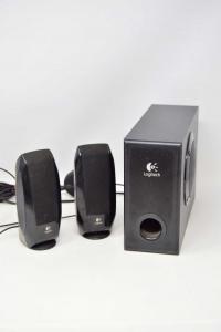Logitech S220 Speaker System Active Minispeaker