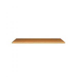 Mensola in Truciolato Nobilitato Noce Chiaro - Spessore: 10mm - Bordata su 4 lati