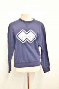Sweatshirt Unisexerrea Size S Blue