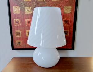 Lampada da tavolo in vetro Murano