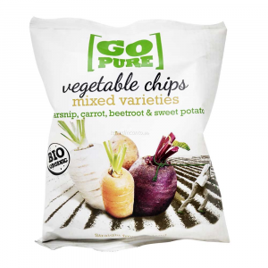 Chips di verdure GO PURE 40g