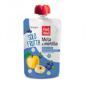 Solo frutta mela e mirtillo Baule volante