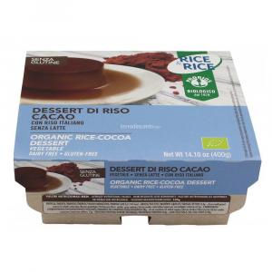 DESSERT DI RISO CACAO  (4x100g) 400g  RICE & RICE