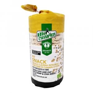Gallette Fit Snack con Segale Avena e Semi di Canapa 100 gr