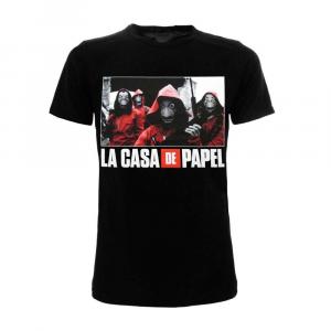 Casa de Papel t-shirt manica corta XXS XS S M L XL XXL