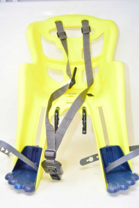 Car Seat Bike Front Yellow Fluo Butx15kg Belelli Made In Italy