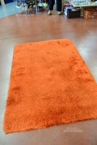 Carpet Orange Furry 120x180 Cm