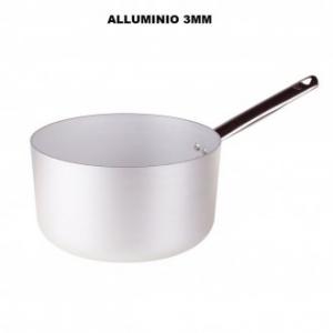 Casseruola Alta 24 Cm In Alluminio Professionale Con 1 Manico Cucina Pentole Casa Cucina Professionale