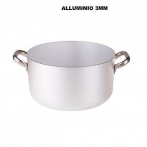 Casseruola Alta 24 Cm In Alluminio Professionale Con Due Manici Laterali Cucina Pentole Casa Cucina Professionale