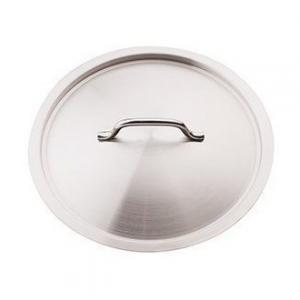 Coperchio 32 Cm In Acciaio Inox Professionale Con Manico Materiale Resistente Per Pentole e Casseruole Casa Cucina