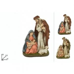 Natività 20 Cm 2 Figure Assortite Diversi Modelli Decorati Nel Minimo Dettaglio Oggettistica Casa Natalizia