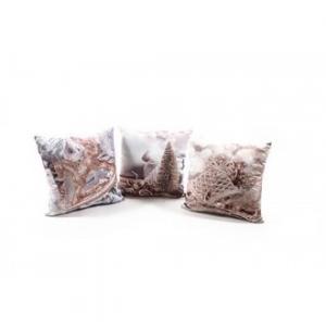 Cuscino Decorato Con Glitter 40x40 Cm Decorazione Natalizia Per Divano Letto E Altro Arredare Casa In Tessuto