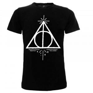 Harry Potter maglietta I doni della morte da 7 anni alla taglia XXL