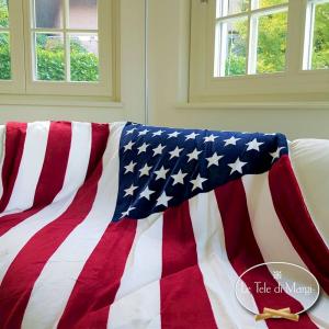 Plaid Bandiera americana 130 x 160