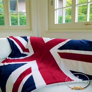 Plaid Bandiera inglese 130 x 160