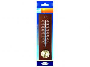 Termometro ambiente per esterni con igrometro