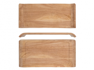 Vassoio legno Mekkan 39x19