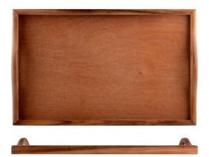 Vassoio in legno rettangolare 32x51