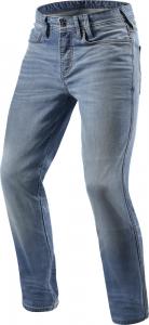 Jeans moto Rev'it Piston Blu Chiaro Used L32